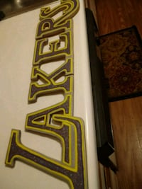 Open offers Art Lakers wooden sign