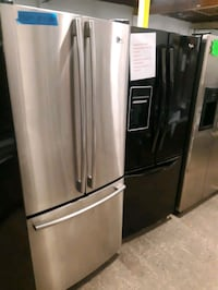 30IN. FRENCH DOORS FRIDGES WORKING PERFECTLY 4 MONTHS WARRANTY