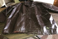 Men patch leather jacket size 4X Woodbridge, 22193