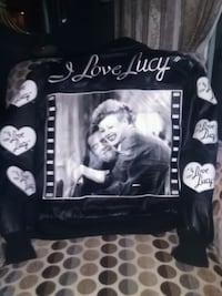 I love lucy leather jacket size small 37 mi