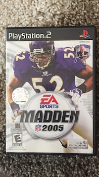 EA Sports Madden 2005 ps2 game Wilmington, 28405