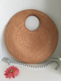 Vintage Straw Purse Made in HONG KONG  Houston, 77077