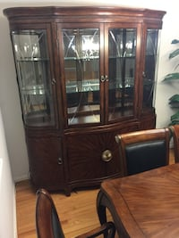 China Cabinet, Dining Room table, Curio Cabinet