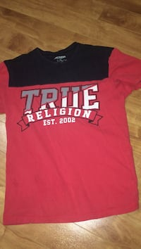 black and red true religion shirt Vaughan, L4J 7Z5