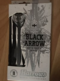 "Setas ""Black Arrow"" da Harrows LISBON"
