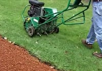 Lawn aeration and oversees 582 mi