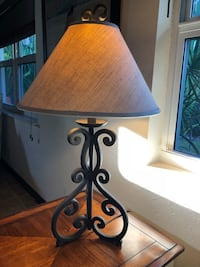 Lamp wrought iron from Haverty's Fort Lauderdale, 33306