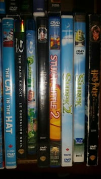 33 Kids Assorted Dvds and 1 blu ray Innisfil, L9S 1V1