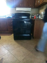All black electric stove must go!!!! Sulphur