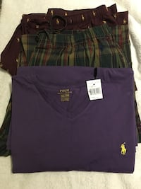 Ralph Lauren Polo Tee And Pajamas Washington, 20002