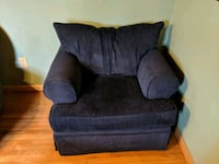 Oversized chair and ottoman  Worcester