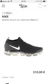unpaired black Nike running shoe screenshot Montréal, H2P 2X2