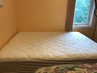 Brand new mattress and box spring Double with bed rails  Brampton