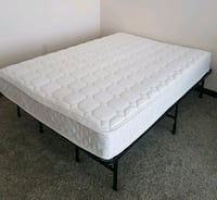 "8"" spring full mattress - 2.5 months old Los Angeles, 90012"