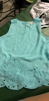 women's teal tank top Conway, 29527
