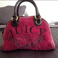 red and black Juicy Couture tote bag Santa Maria, 93458