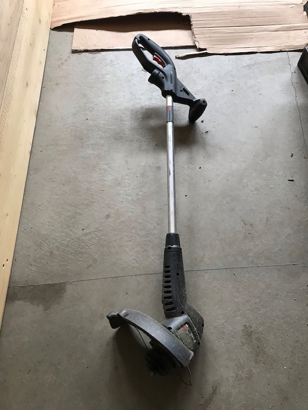 Corded weed wacker