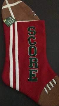 Football stocking NEW Thomasville, 27360