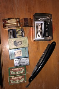 Antique and vintage shaving supplies. Calgary, T2Y 2W5