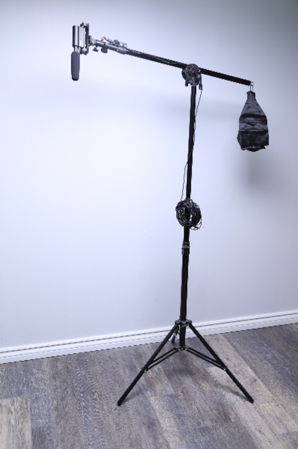 Boom Audio/Video Recording Microphone w/ Stand!!