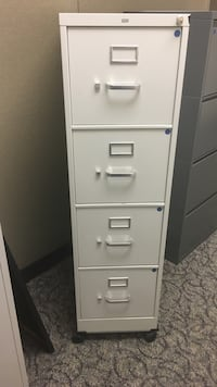 white 4-drawer filing cabinet Fairfax, 22031