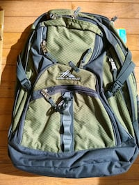 black and gray Kelty backpack Fairfax