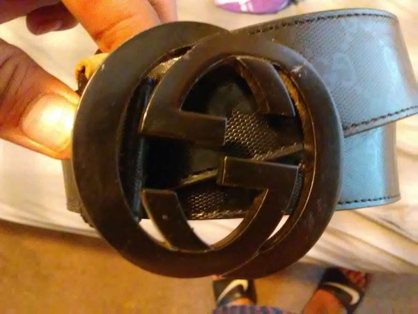 ad712c7db9f Used gucci black leather belt for sale in Oakland - letgo