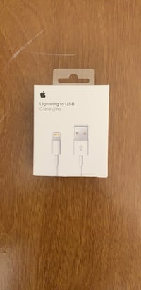 apple 2m cable $25 firm price apple selling for $39 plus tax I am selling only $25 Toronto, M4H 1L1