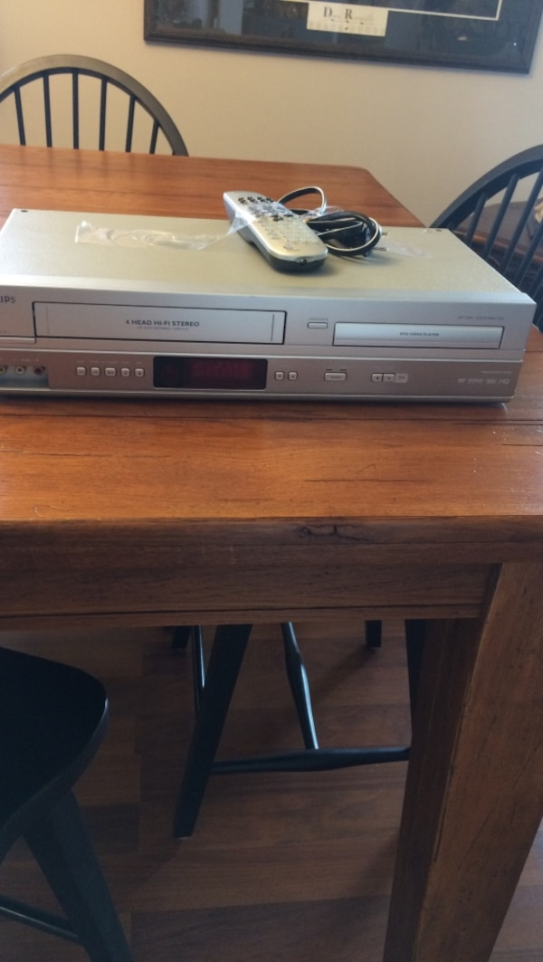 4head hi fi stereo.  DVD video player Phillips