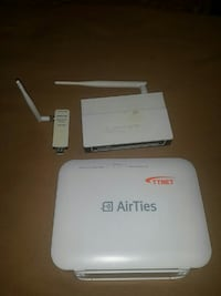 AIRTIES AIR 5650 300MBPS KABLOSUZ-N ADSL2+ 4 PORT
