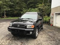 Nissan - Pathfinder - 2002 .PARTS OR DRIVE AS A WINTER BEATER. FRAME RUST ,STILL RUNS AND DRIVES FINE ,V6 ,230 k ,AUTOMATIC. 4+4 .  Montague, 07827