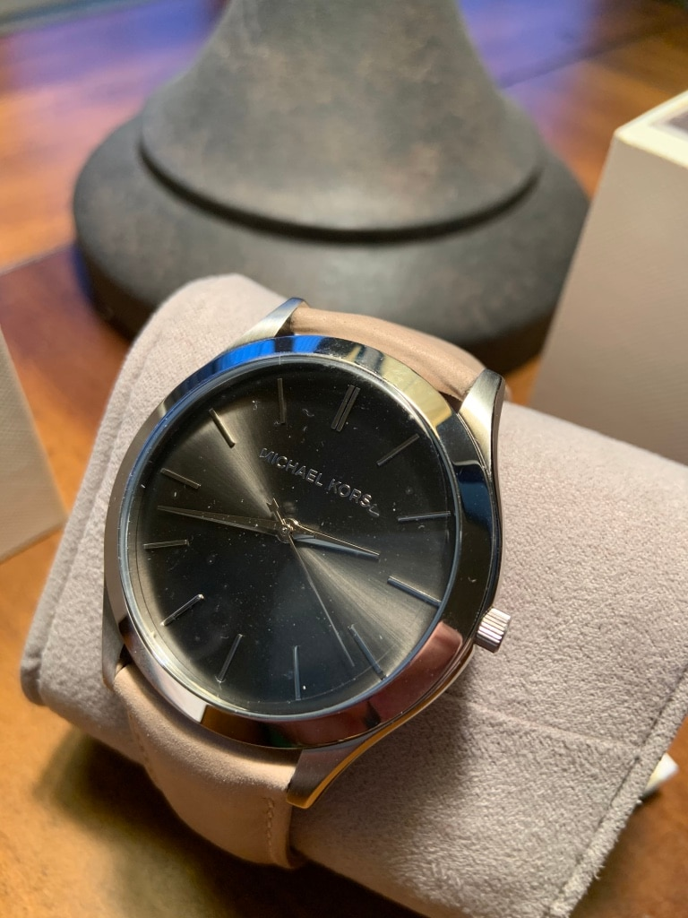 Photo Michael Kors 'slim runway' men's watch (MK8619)