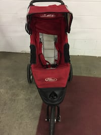 Baby Jogger City-Series Red and black jogging stroller Shrewsbury, 01545