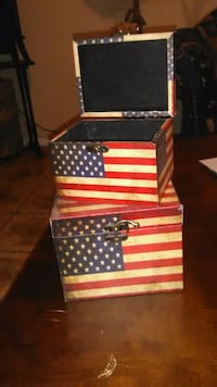 Well Crafted hard wood boxes/little one fits in bi Las Vegas, 89156