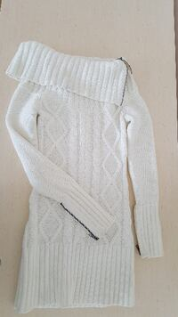 GUESS cable sweater with zipper Markham