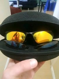 Oakley's sunglasses w/ 2 extra lenses Port Coquitlam