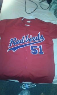 red and blue Los Angeles Dodgers jersey Northglenn, 80233
