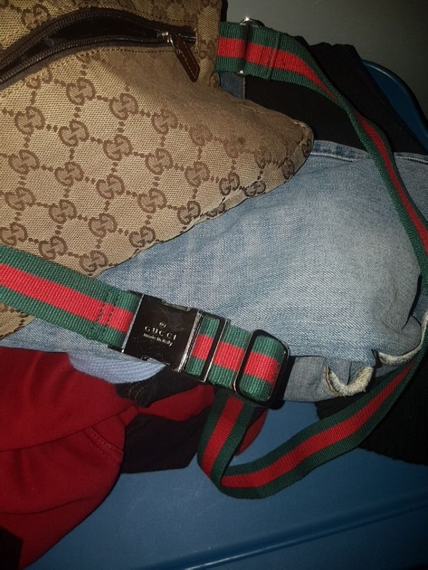 42d650ac853 Used brown Gucci sling bag for sale in Ontario - letgo