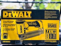 DEWALT 16-Gauge Pneumatic 1 in. Wide Crown Lathing Stapler Model : DW450S2 Brand new open box but never used  Concord, 94521