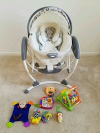 Graco swing ,toys Northville, 48168