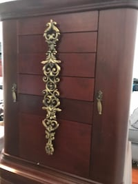 Furniture Style cherry wood jewelry case
