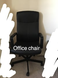 Leather office chair  Mississauga, L5N