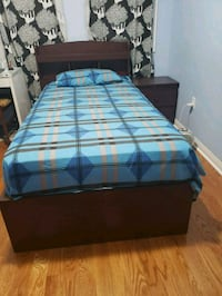 SINGLE Brown Bed Frame (Mattress NOT included) Toronto, M1X 1W8