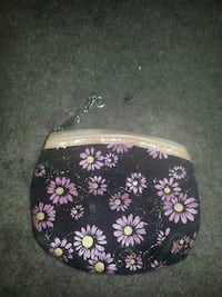 pink and black floral coin purse Henderson, 89074