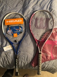 two black and red Wilson tennis rackets Rockville, 20852