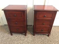Pair of wooden nightstands Miami, 33143