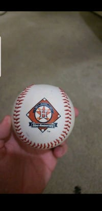 **JD MARTINEZ AND JIMMY PAREDES SIGNED BASEBALL** Tomball, 77377