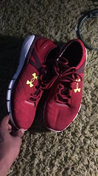 pair of red Nike running shoes Tallahassee, 32303