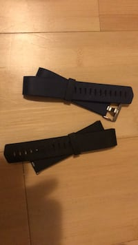 2 large Fitbit charge bands  Kelowna