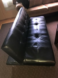 black leather futon Ottawa, K1G
